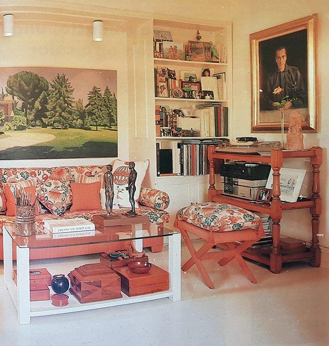 El estudio de un pintor